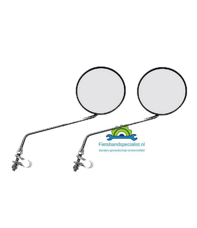 Xtrabike Fietsspiegelset (2 stuks) verstelbaar