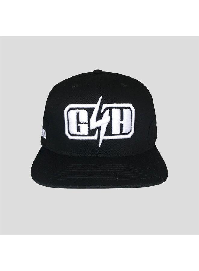 Gunz for Hire snapback black/white