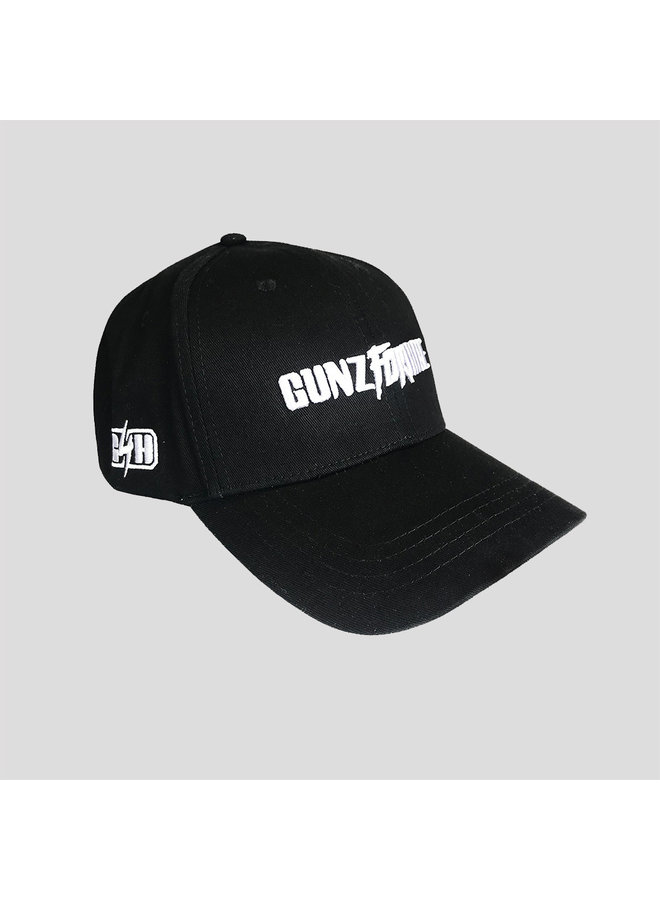 Gunz for Hire basecall cap black/white