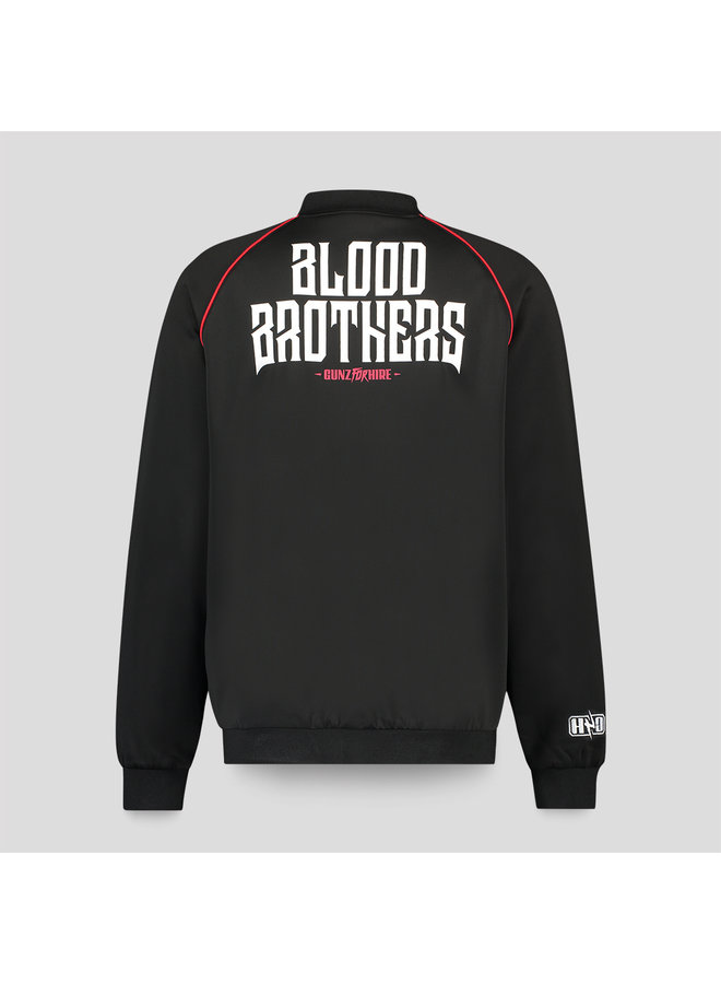Gunz for Hire track jacket black/red