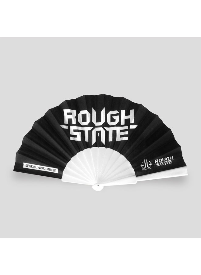 Roughstate handfan black/white