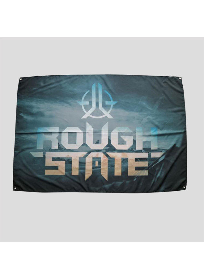 Roughstate flag black/blue