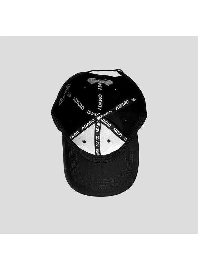 Adaro baseball cap black/white