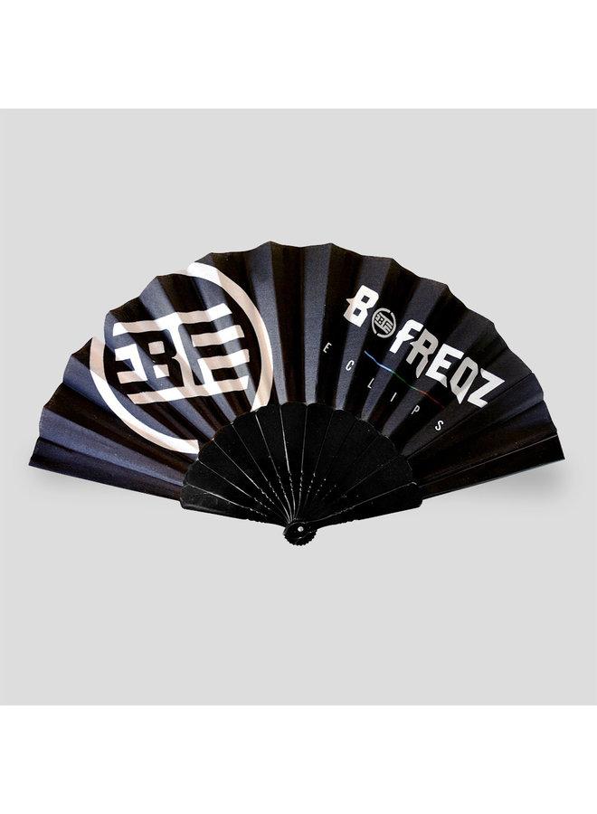 B-Freqz handfan black/white