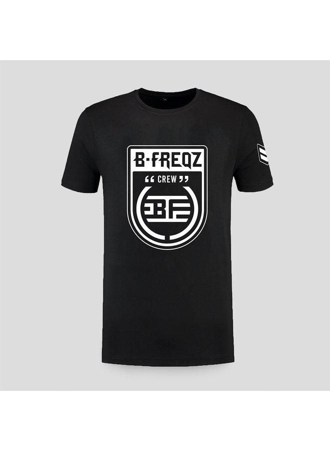 B-Freqz t-shirt black/white