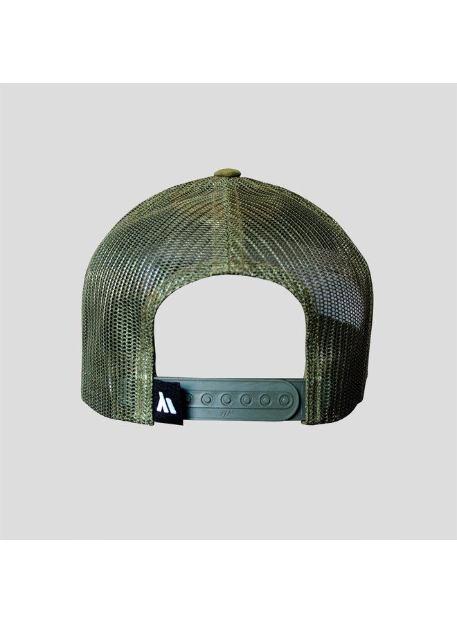 B-Freqz truckercap green/black
