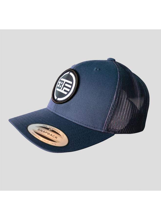 B-Freqz truckercap blue/black