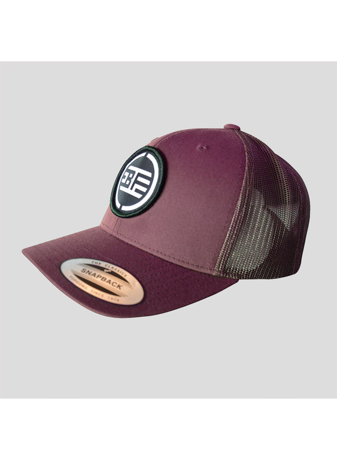 B-Freqz truckercap burgundy/black
