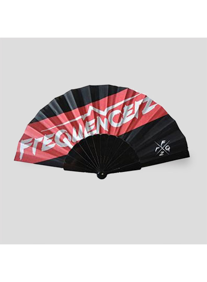 Frequencerz handfan red/black