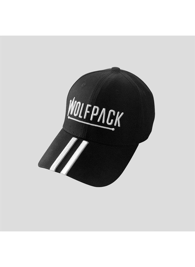 Wolfpack baseball cap black/white