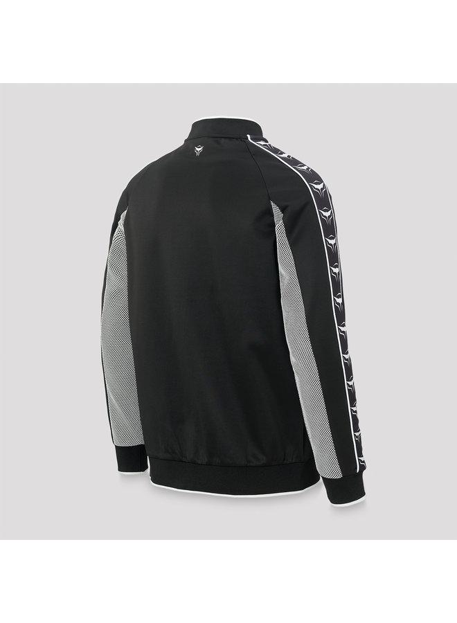 Ran-D track jacket black/grey
