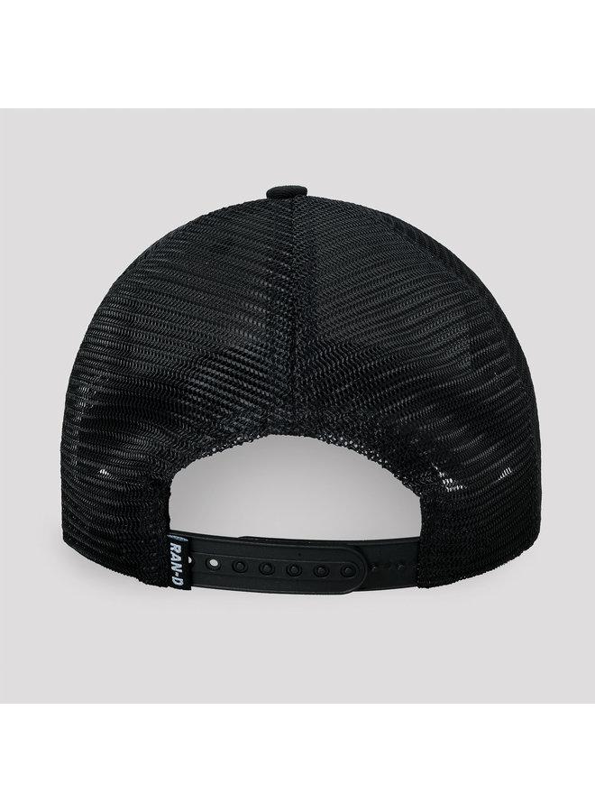 Ran-D trucker cap black/red