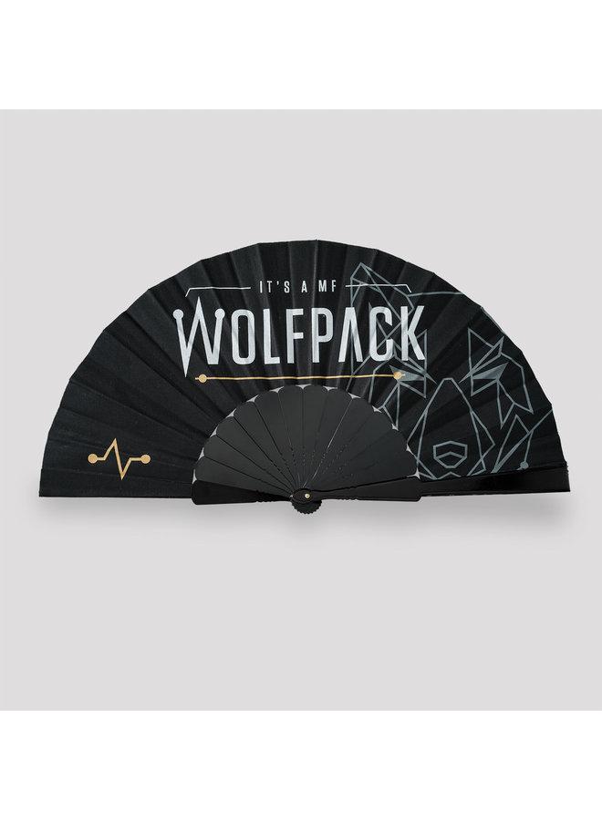 Wolfpack handfan black