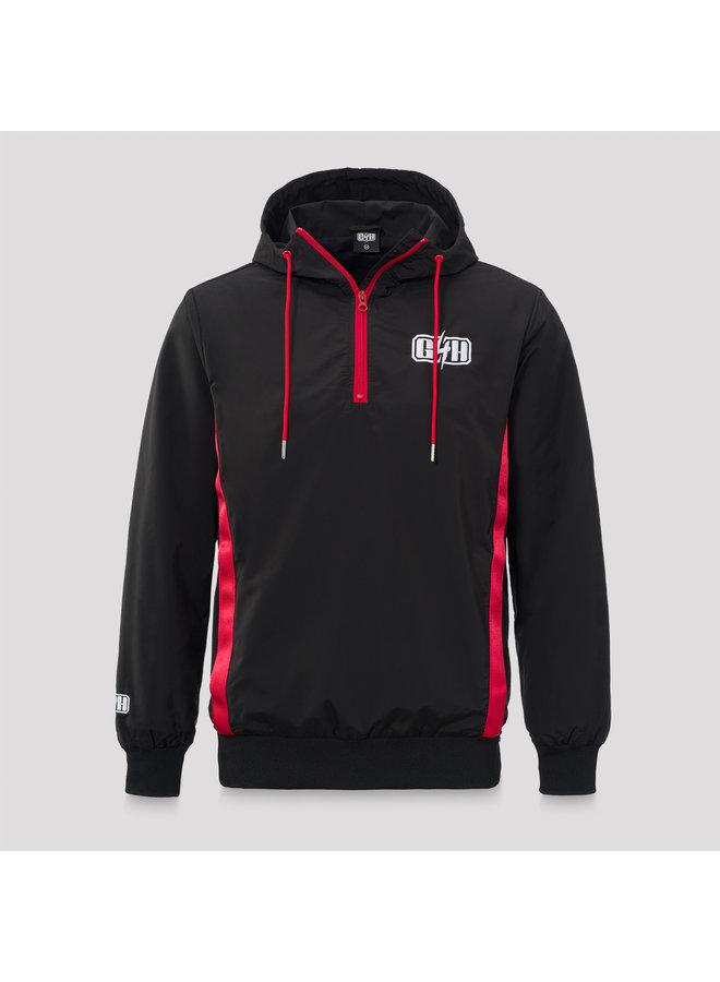Gunz for Hire wind jacket black/red