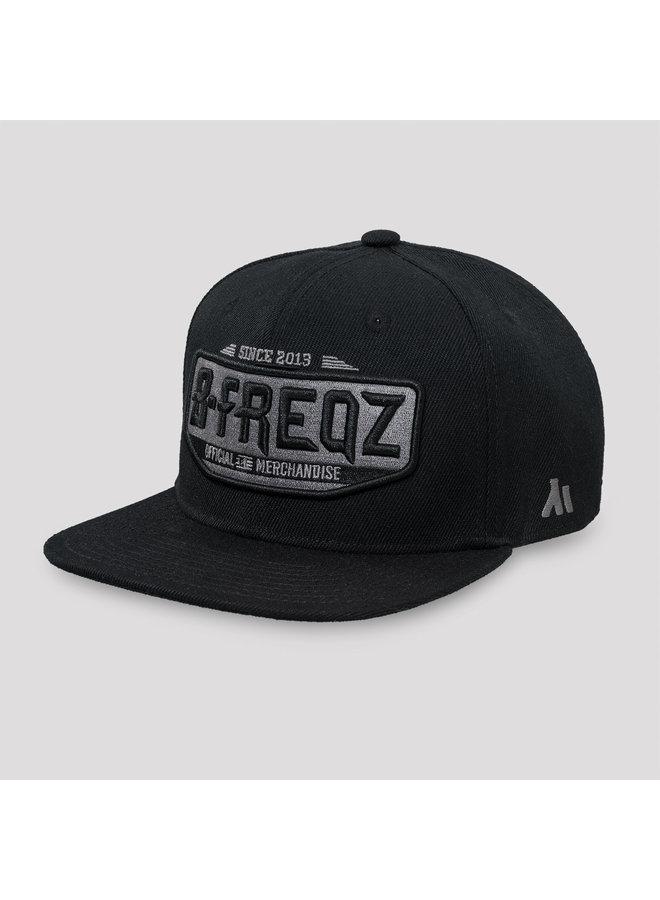 B-Freqz snapback black/grey