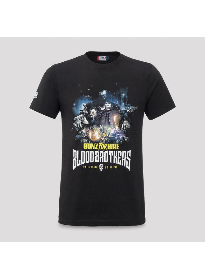 Gunz for Hire t-shirt black/multi color