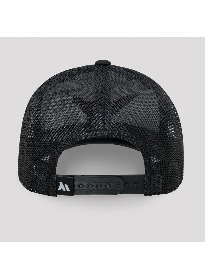 Stealth Mode truckercap black