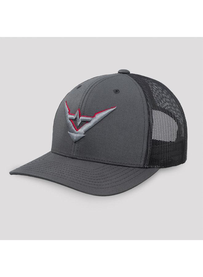 Stealth Mode truckercap charcoal