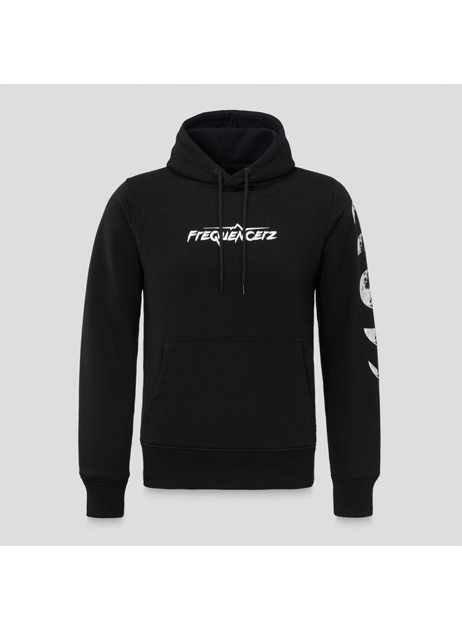 Frequencerz hoodie black/white