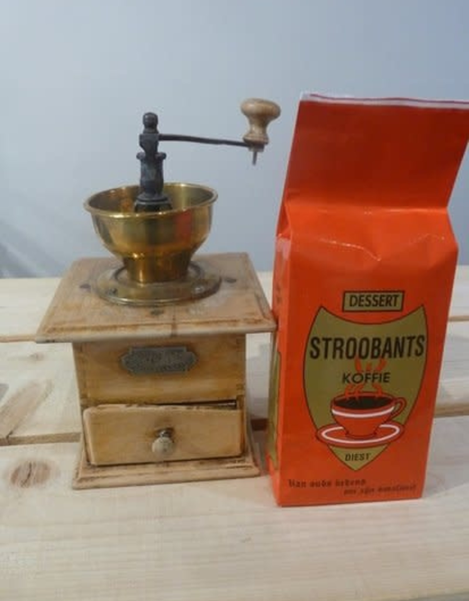 Stroobants Stroobants Dessertkoffie gemalen (500g)