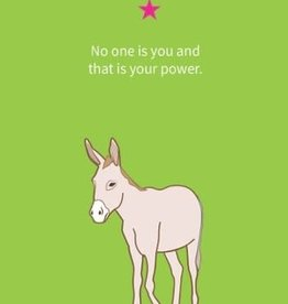 De vliertuin Ezelwenskaart 'power'