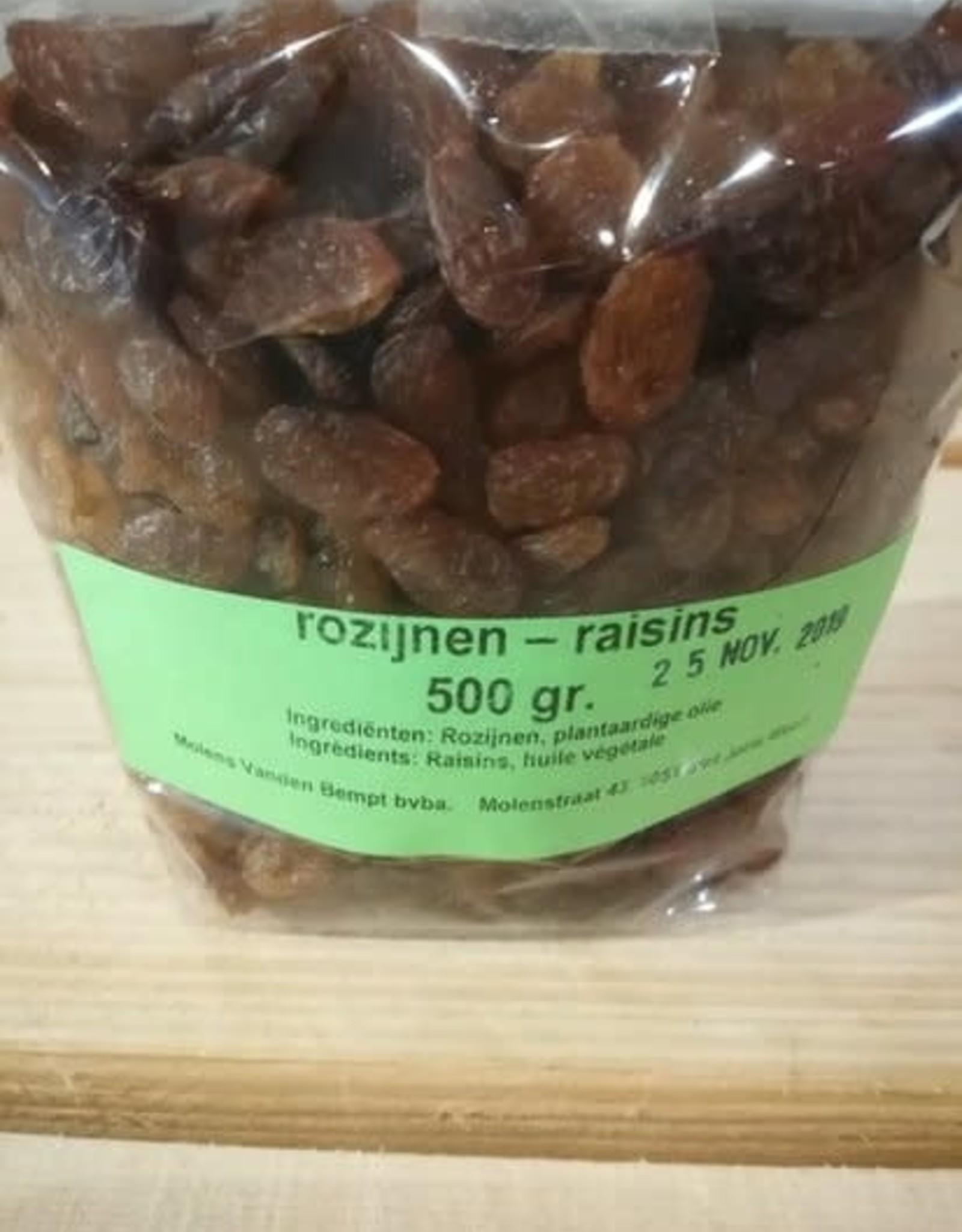Molens Vanden Bempt Rozijnen 500g