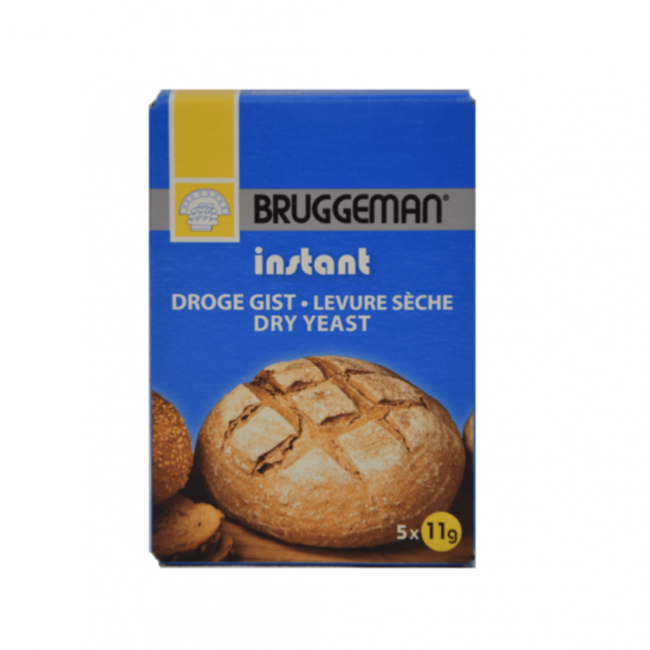 Bruggeman Droge gist 5 x 11g