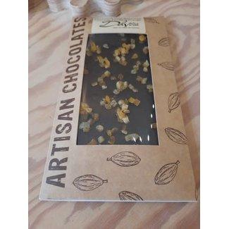 Chocolaterie Delvora Chocoladereep puur met appelsien