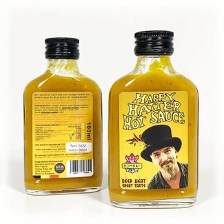 Happy Hatter Hot Sauce Bombay hot sauce