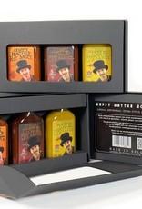 Happy Hatter Hot Sauce Geschenkpakket met 3 x hot sauce