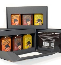 Happy Hatter Hot Sauce Geschenkpakket met 3 x hot sauce