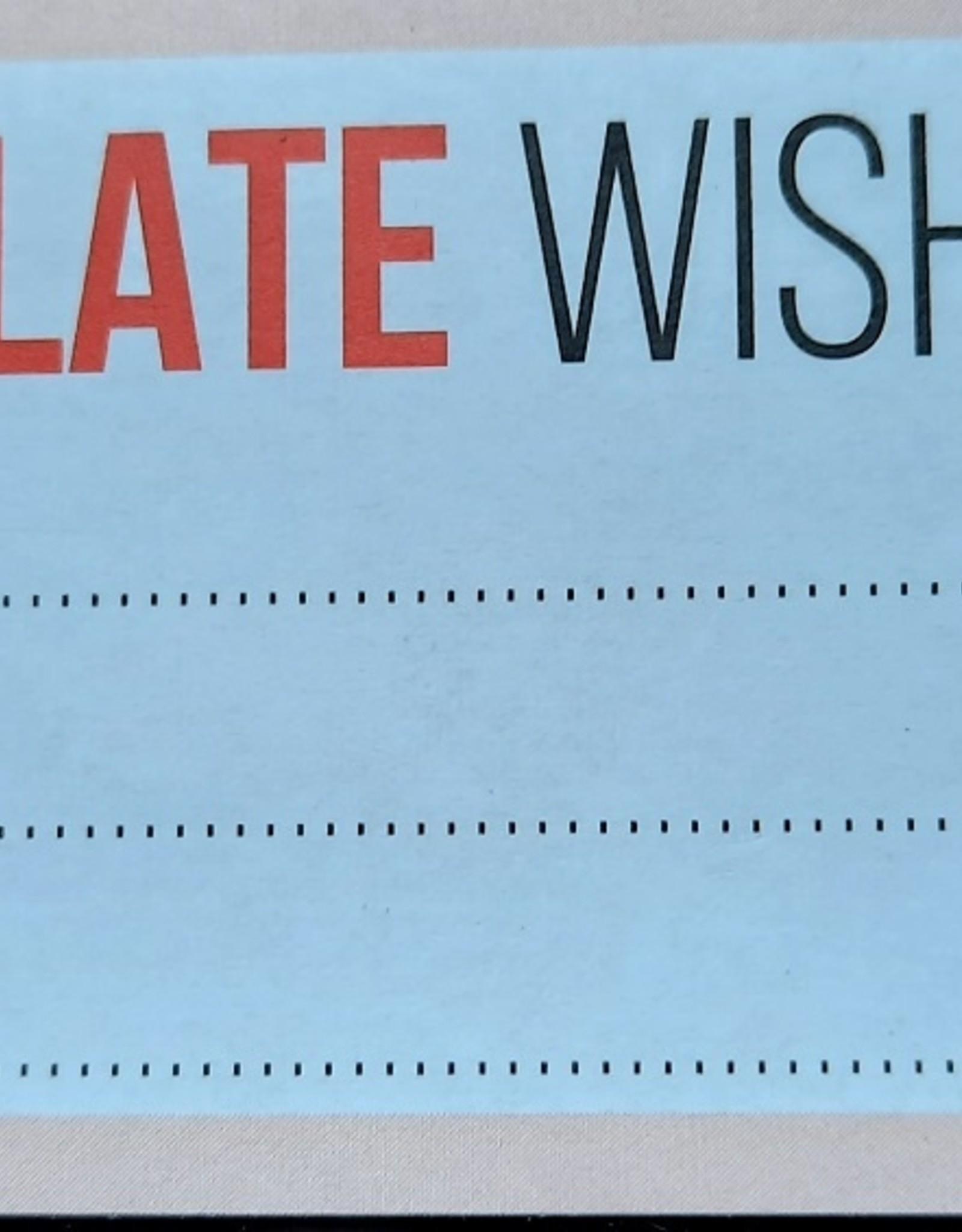 Chocolaterie Delvora Wensreep melkchocolade 'Good luck'