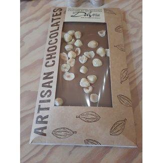 Chocolaterie Delvora Chocoladereep melk met hazelnoten