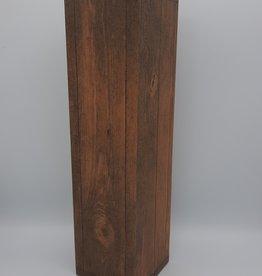 De vliertuin Flesverpakking houtmotief 1 fles