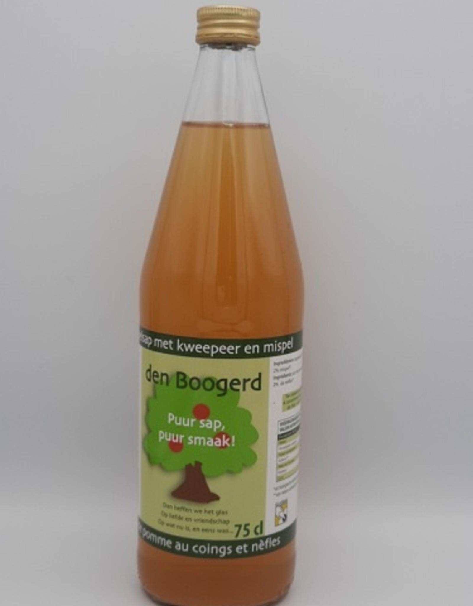 Den Boogerd Appel-kweepeer-mispelsap 75cl
