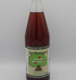 Den Boogerd Appel-rode vruchtensap 75 cl