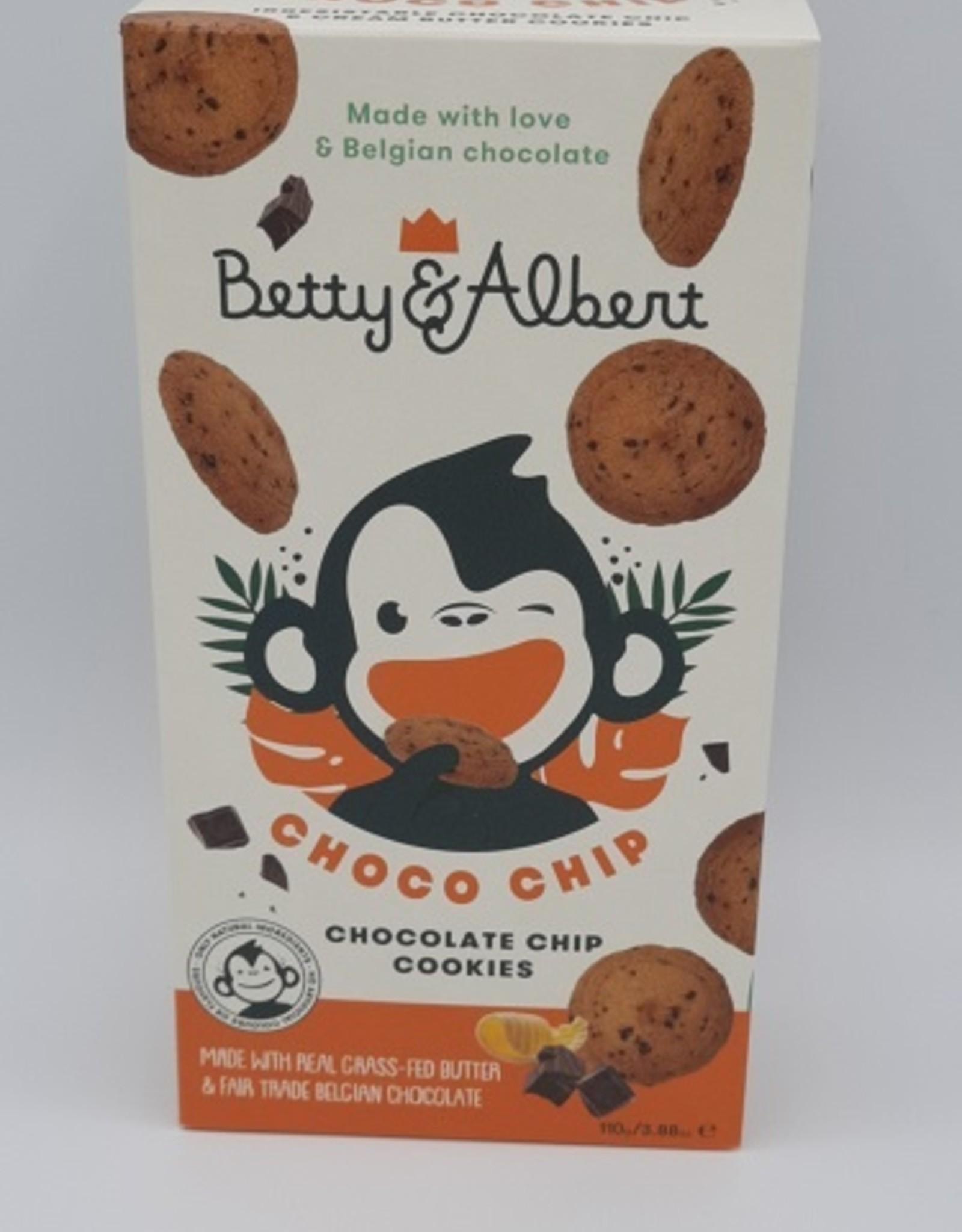 Betty & Albert Choco chip cookies Betty & Albert