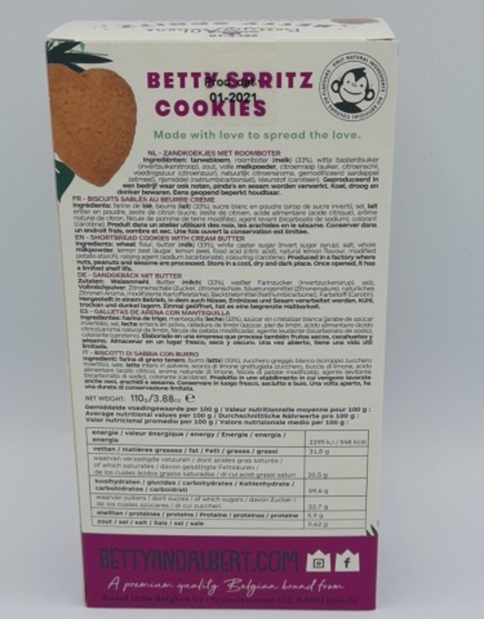 Betty & Albert Betty spritz cookies