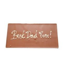 Chocolaterie Delvora Chocoladereep Best dad ever