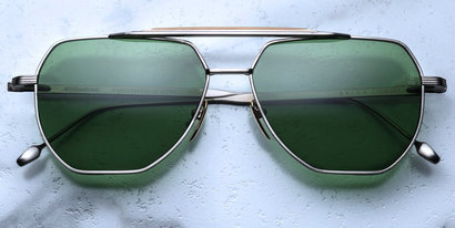 Brion Silver Vintage Green