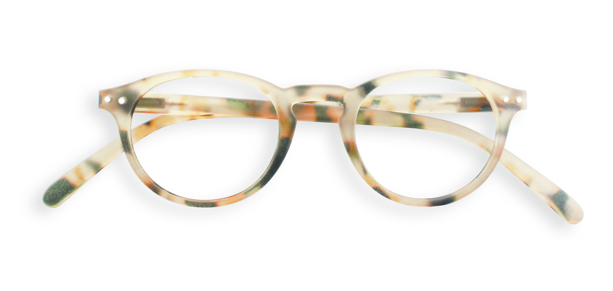 Izipizi leesbril model A Light Tortoise-1