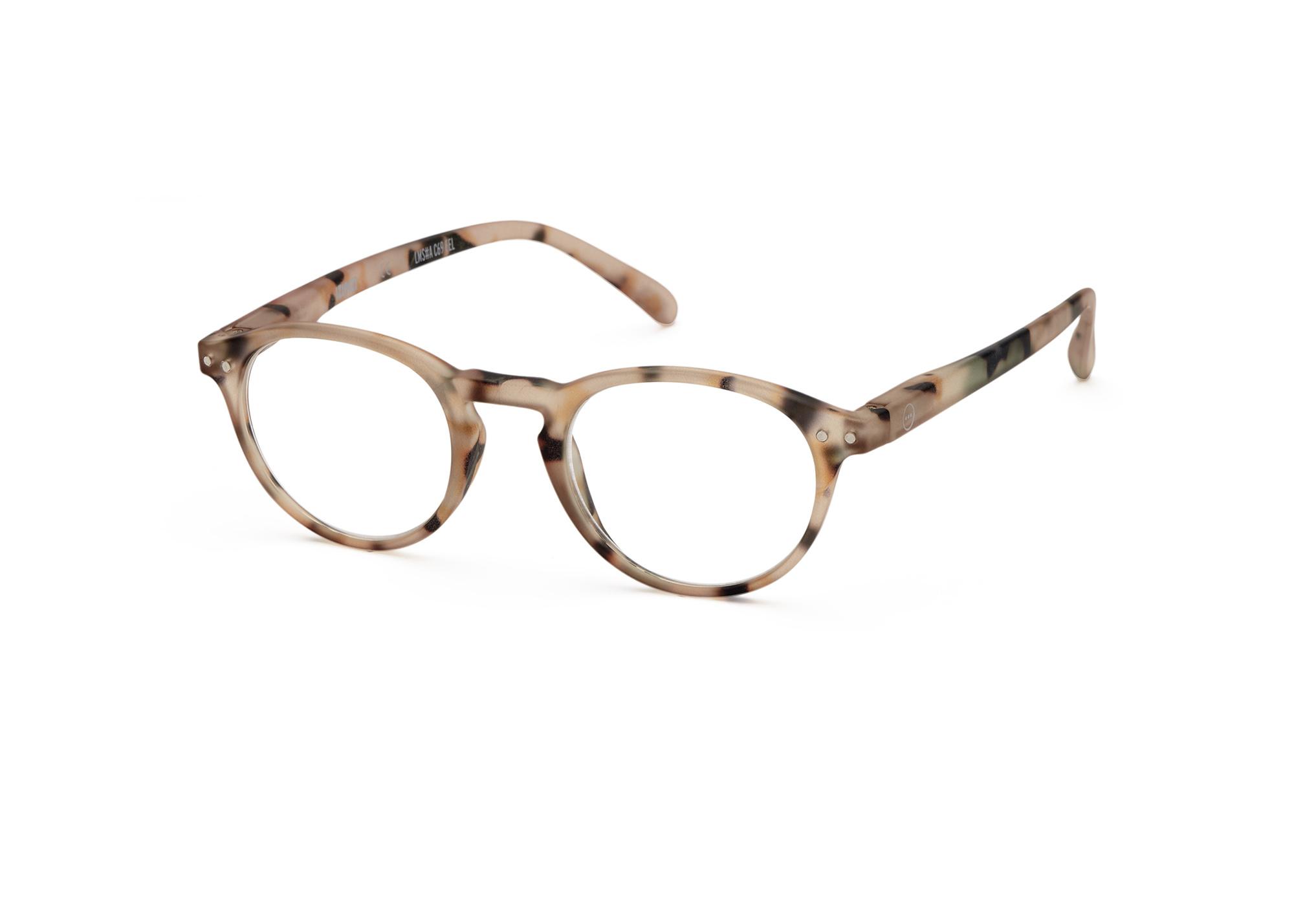 Izipizi leesbril model A Light Tortoise-3