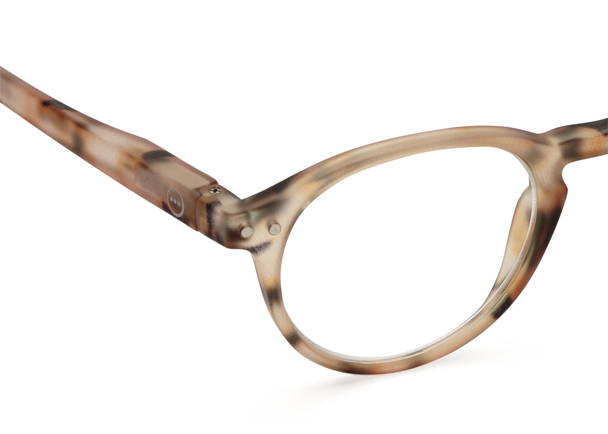 Izipizi leesbril model A Light Tortoise-2