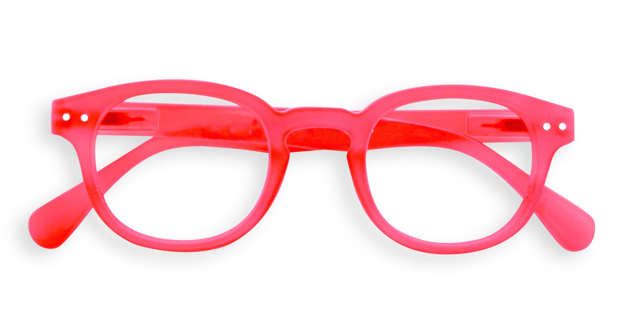 Izipizi leesbril model C Red-1