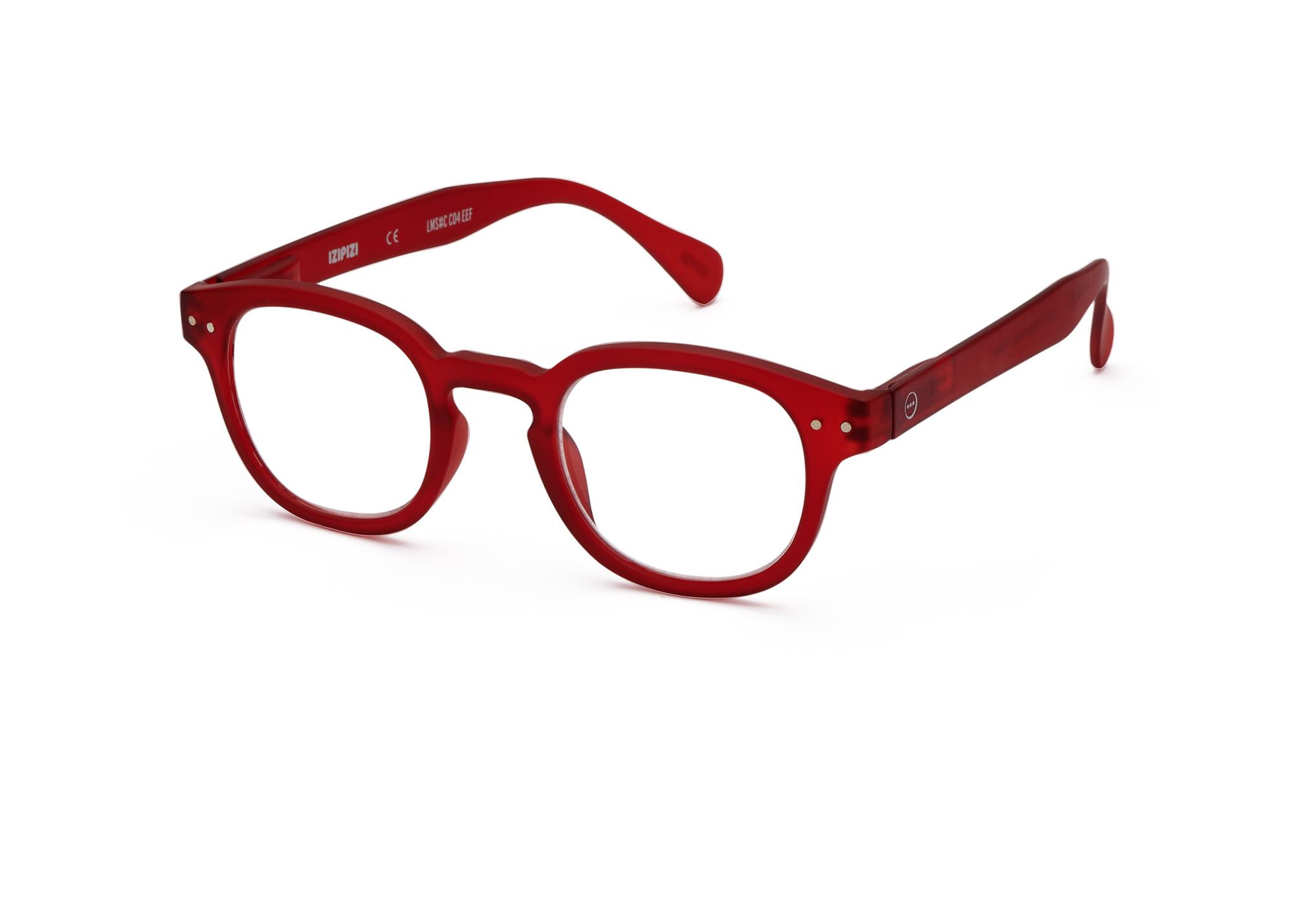 Izipizi leesbril model C Red-3