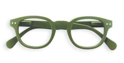 Izipizi leesbril model C Kaki Green