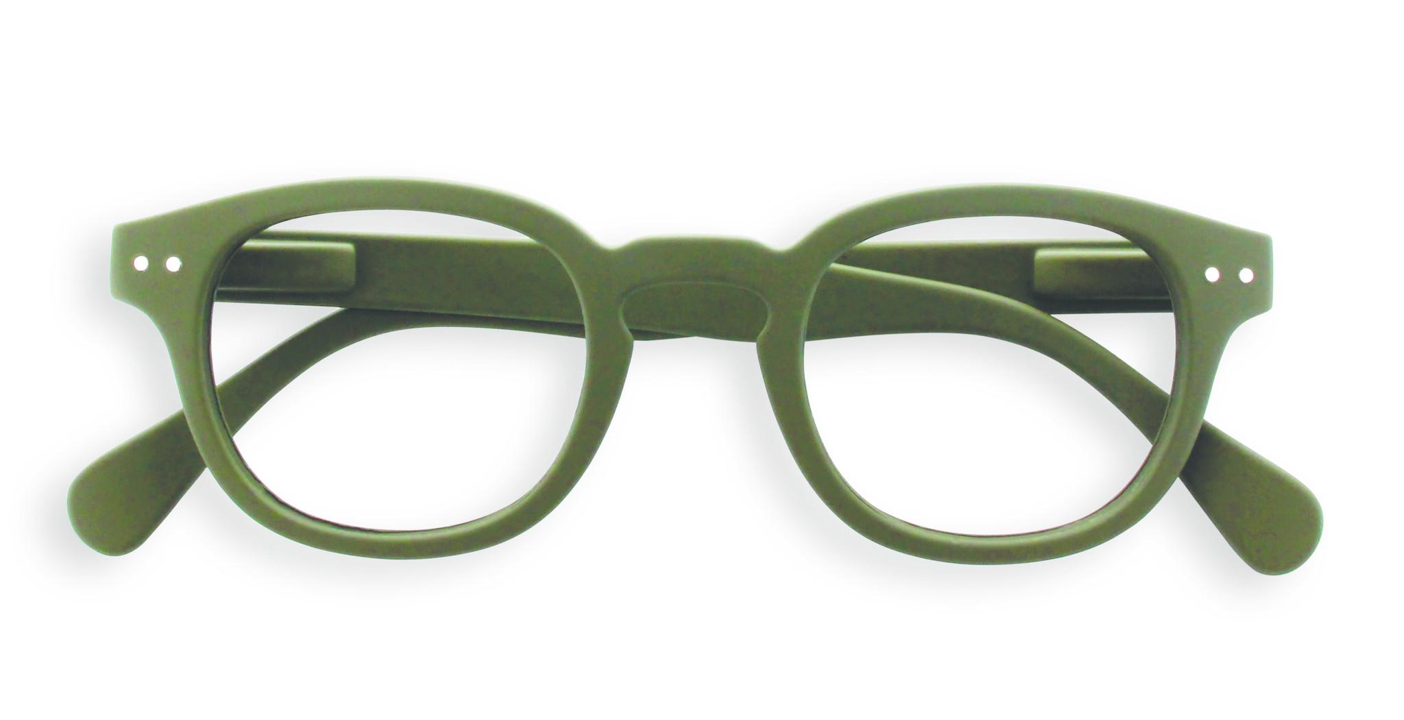 Izipizi leesbril model C Kaki Green-1