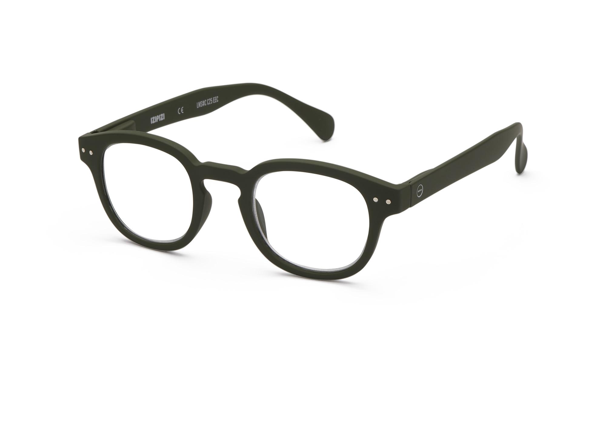 Izipizi leesbril model C Kaki Green-3