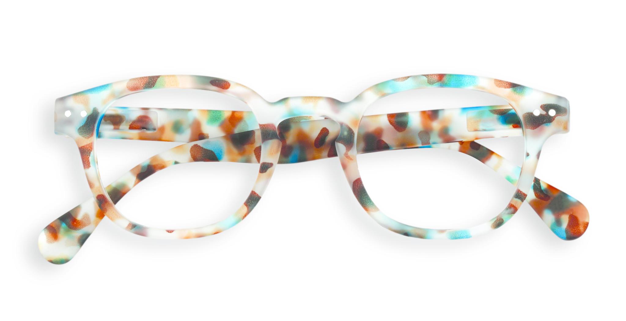Izipizi leesbril model C Blue Tortoise-1