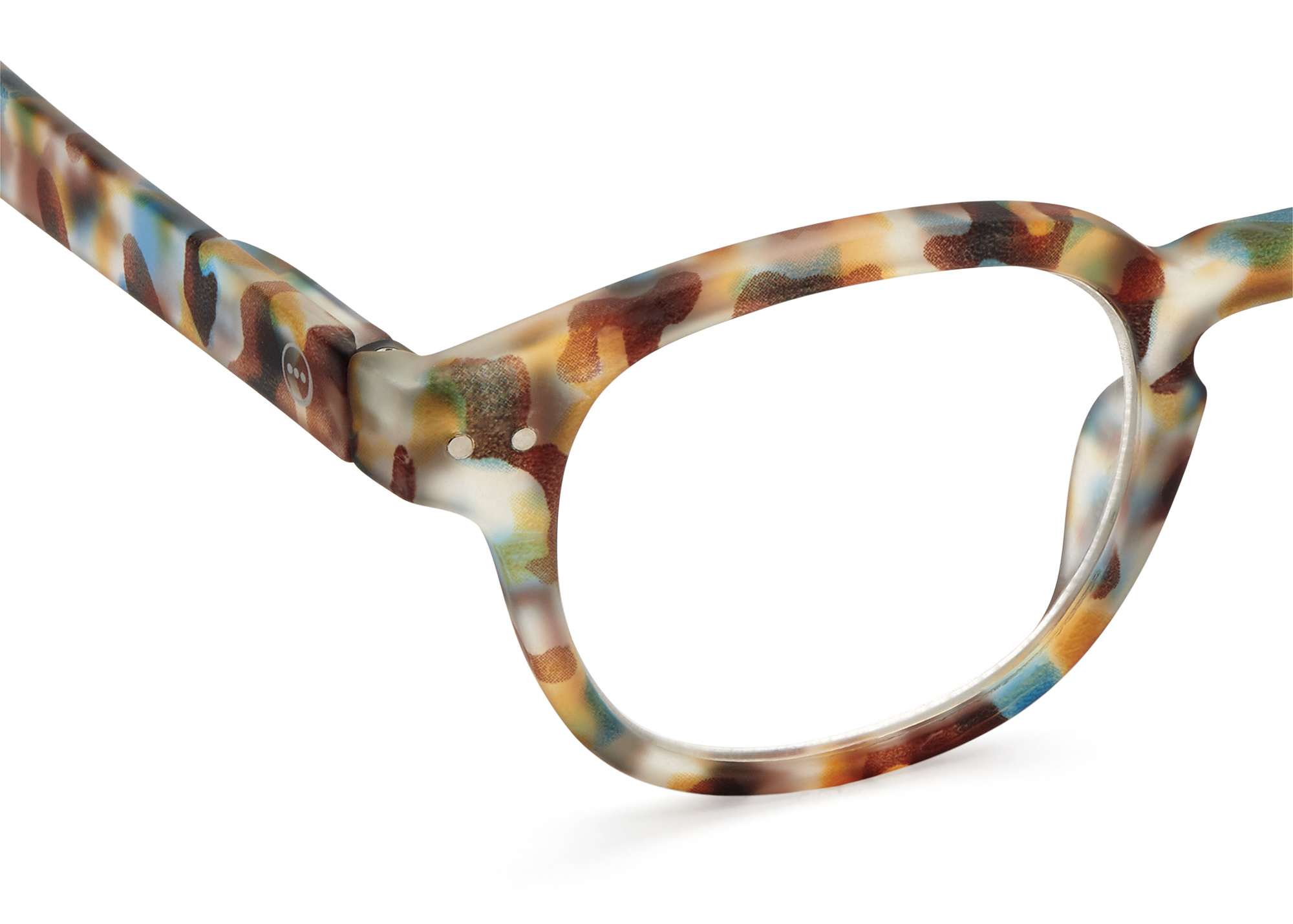 Izipizi leesbril model C Blue Tortoise-2